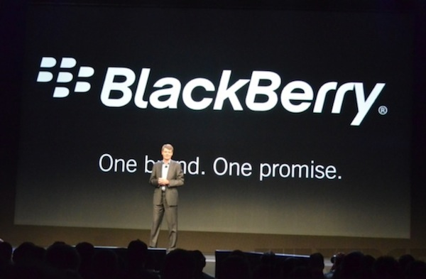 RIM Changes Name to BlackBerry