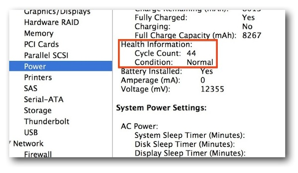 Apple SMC Update 1.8 Battery Cycle Count