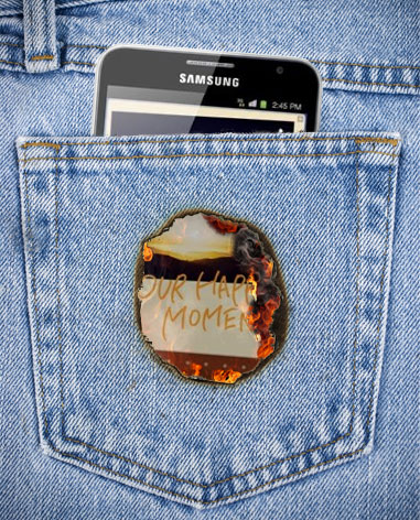Samsung Galaxy Note Fire