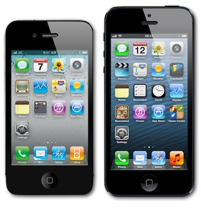 iPhone 4S vs iPhone 5 Sales