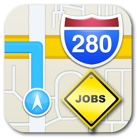 iOS Apple Maps Jobs Postings