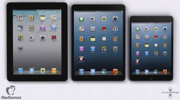 5th Gen iPad Rendering