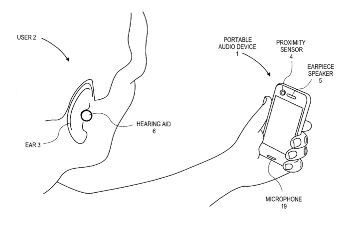 Apple Patent App Hearing Aid