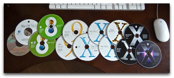 Travel Back to the Days of Physical OS X Install Discs