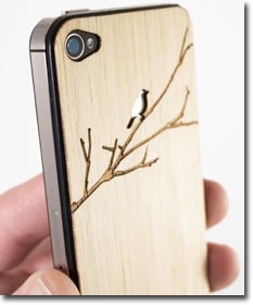 Laser Carved Wood Cases for iPhone & iPad