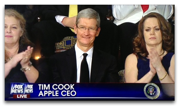 Apple Tim Cook State of the Union 2013