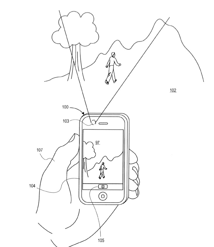 Apple Image Capture Patent App