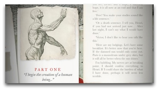 "Rediscover Mary Shelley's ""Frankenstein"" via a Beautiful iOS App"
