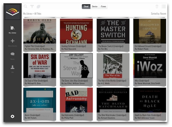 Audible iOS App Update Gives New Life to Audiobook Listening