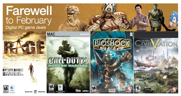 Hundreds of Mac and Windows Games Up to 75% Off at Amazon