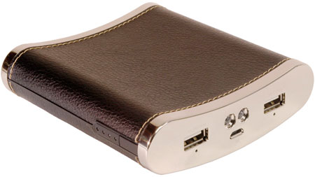 A Portable Charger That Looks Like a Flask
