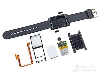 iFixit Says Pebble is Unfixable