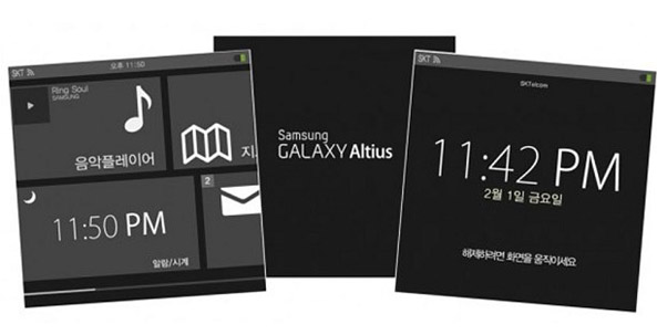 Reported Samsung Smartwatch Screenshots