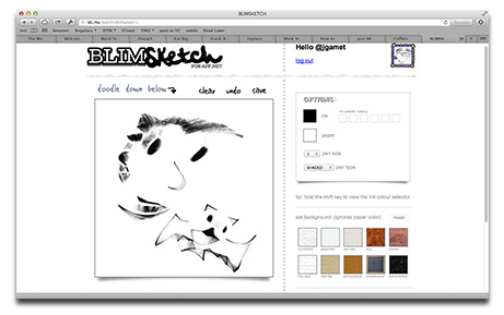 Draw Your App.net Posts with BLIMSketch