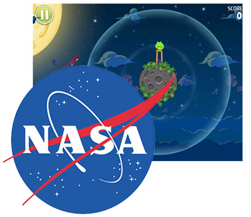 Angry Birds gets Interactive with NASA