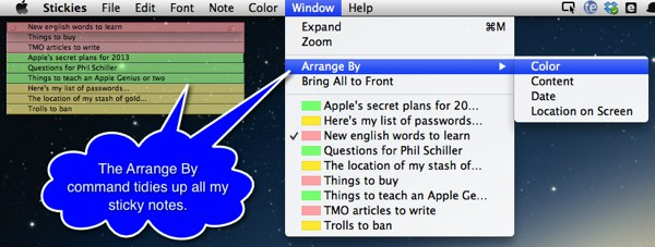 sticky note application for windows