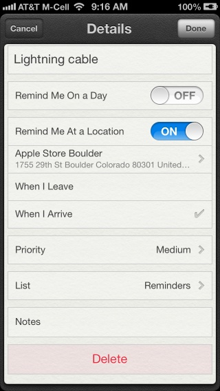 Set up a Geofence Reminder on Your iPhone – The Mac Observer