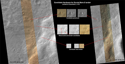 Interplanetary Cool Find: Russian Mars Probe