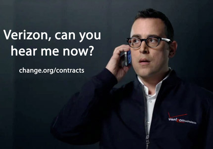 Petition Asking Verizon to Drop Contracts Draws 79K Sigs