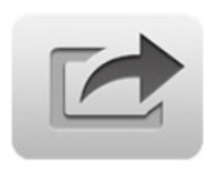 The Share symbol found in many apps.