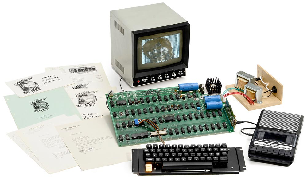 Working Apple I Computer Up for Sale in Drool-Worthy Auction – The ...