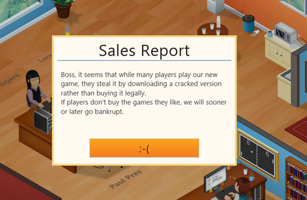 Game Developer Tycoon Screen
