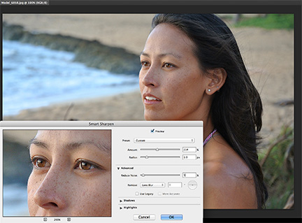 Photoshop CC's updated Smart Sharpen tool