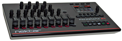 Panorama P1 USB Controller for Cubase, Nuendo, Reason