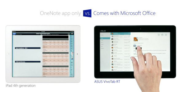 iPad vs. Windows