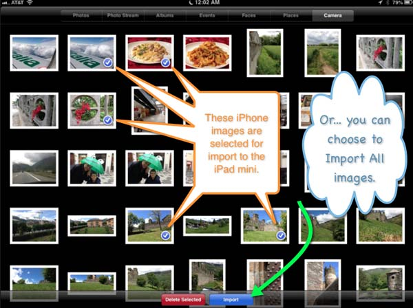 How to Manage Your Photos When Traveling with an iPhone & iPad