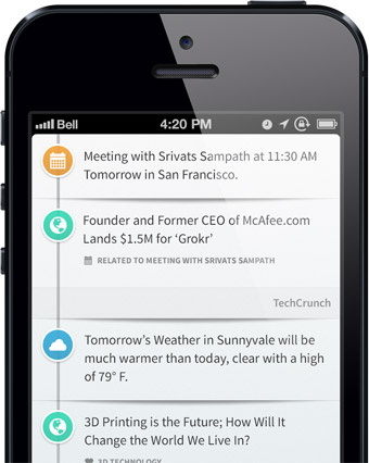 Apple Could Be Working on an Answer to Google Now