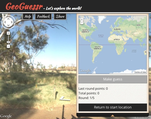 GeoGuessr - Explore a Random 3D Location, Win Points if You Know It