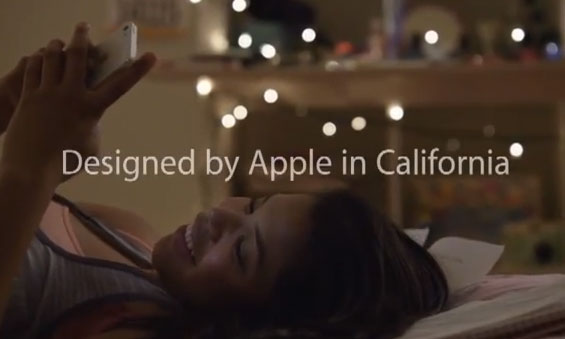"Apple Rolls New Commercial ""Designed by Apple in California"""