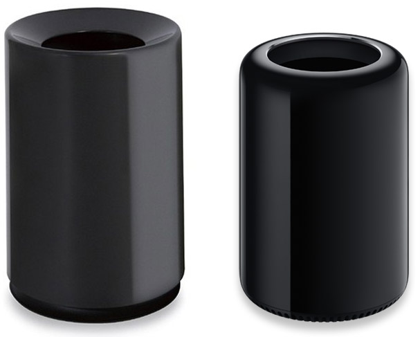 A Trash Can and Apple's Mac Pro
