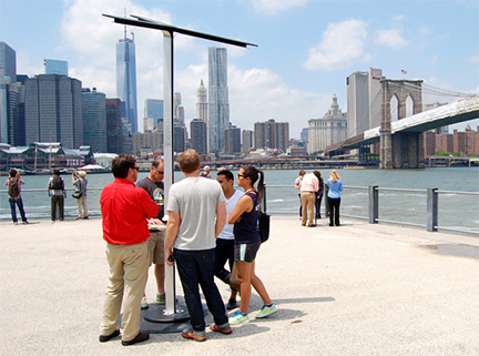 Solar iPhone Chargers Coming to NYC