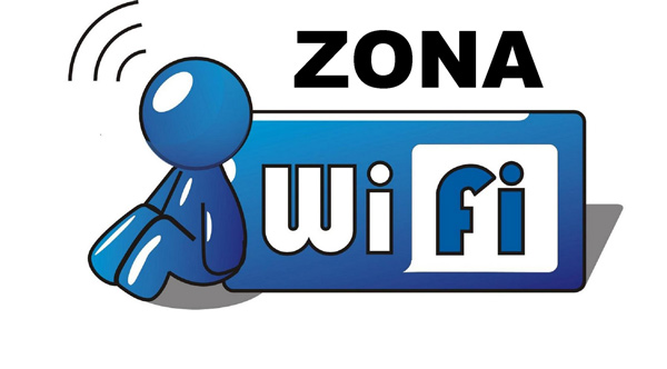 Example of a WiFi Zone sign found in Italy.