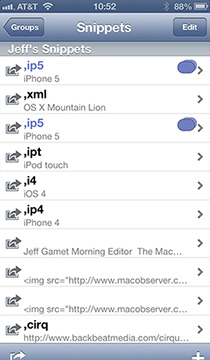Use TextExpander to avoid typing the same things over and over