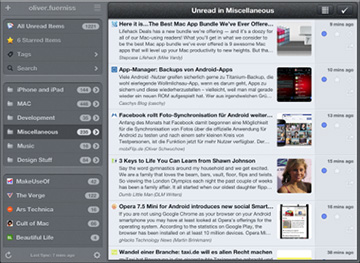 Mr. Reader loads up on features and is ready for the post-Google RSS world