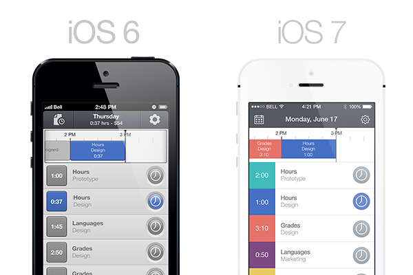 A Developer's Thoughts on Designing for iOS 7