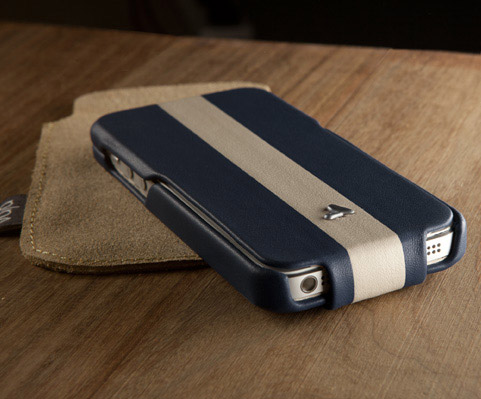 The Vaja Ivo Top SP Case Encloses Your iPhone 5 in Leather