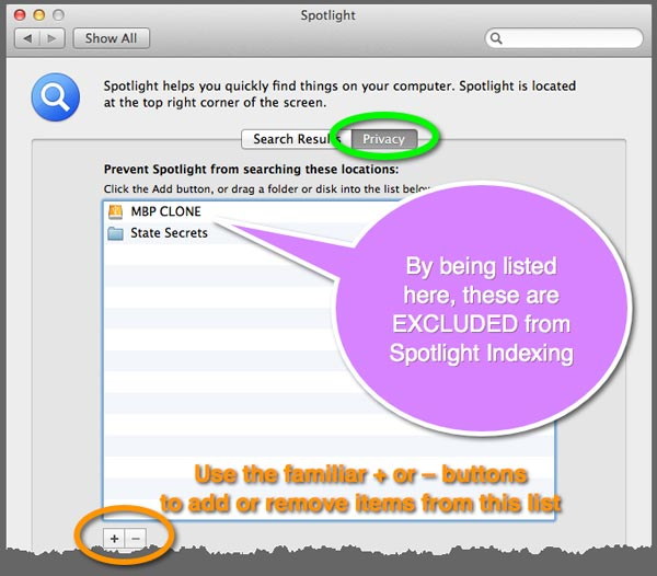 How to Fix Spotlight Indexing in OS X – The Mac Observer