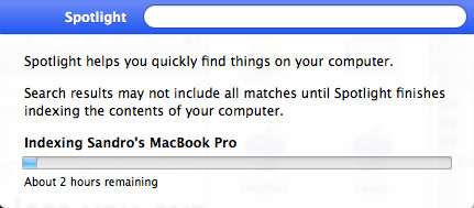 how to stop indexing on mac