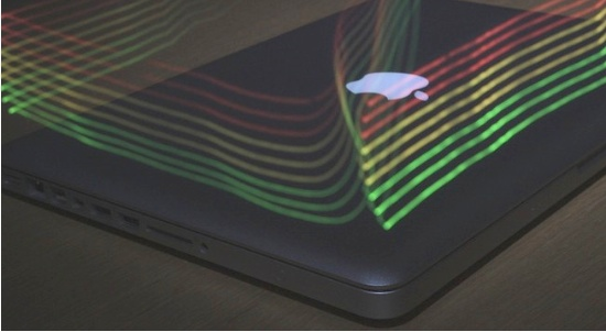 If You Could See Your MacBook's Electromagnetic Fields