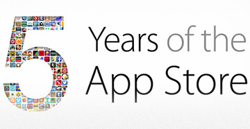 Apple celebrates the App Store's five year anniversary