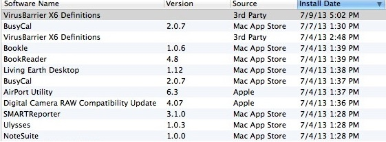 View All Your Software Updates in OS X Mountain Lion – The