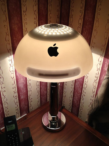 Lamps Made from an iMac G4