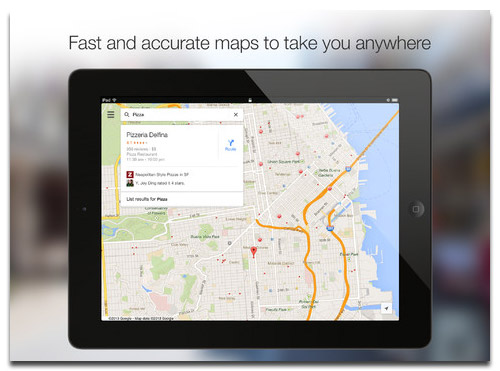 Google Maps 2.0 Released for iPhone & iPad (Direct Link)