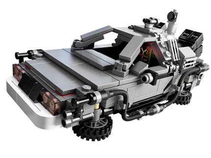 LEGO Back to the Future Delorean Kit Supports Parkinsons Research