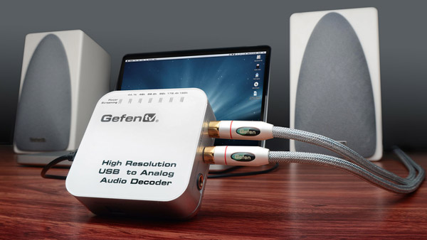 New Gefen Device Delivers 24-bit/192kHz Audio From USB to Speakers