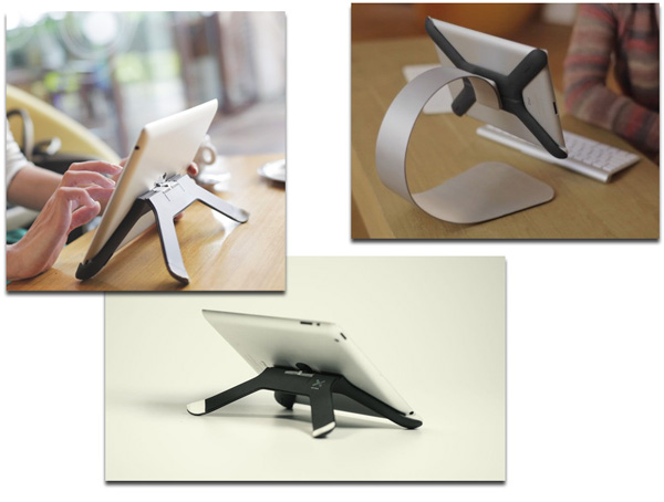 Boomerang Stand for Multiple Angles and Uses